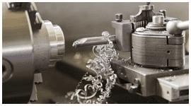 un macchinario per la lavorazione del ferro