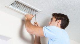 installatore, bocchetta dell'aria climatizzata, filtri anti pollini