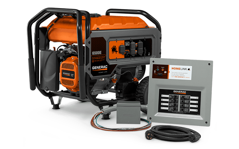 Home backup power with portable generators in Norton Shores MI