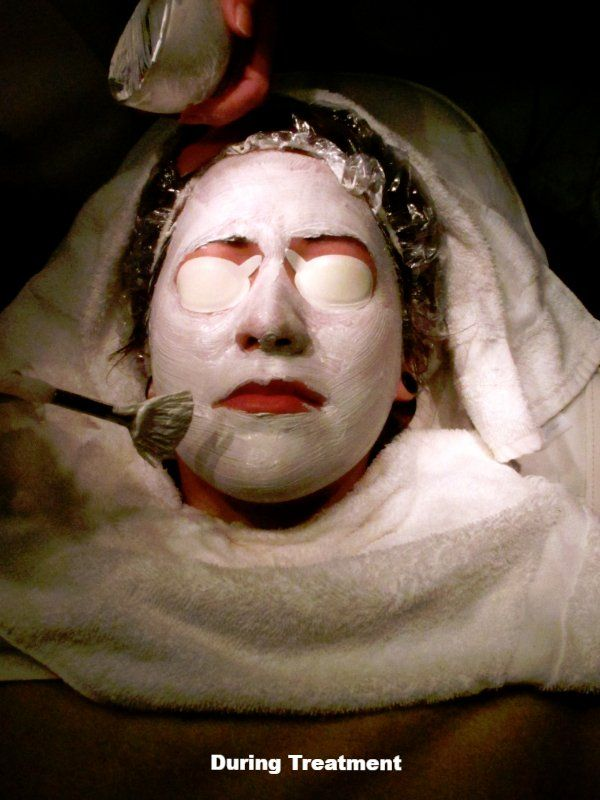 Facial Masque Treatment Charlotte