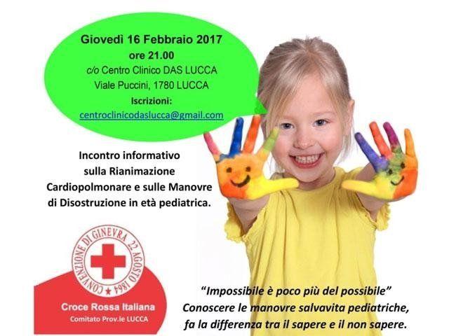 Lezione sulle manovre salva vita pediatriche