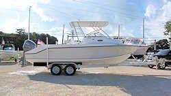25' Angler Walkaround 2007