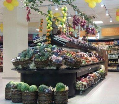 supermercato, minimarket, supermercato frutta