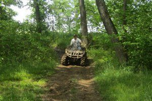 Places to ride ATVs in Missouri - Smurfwood Trails