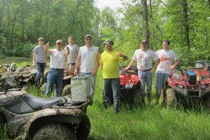 Bachelor Party Idea at Smurfwood Trails ATV Park