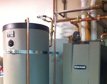 Heating system installed by our contractor in Eagle River, AK
