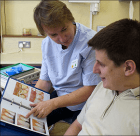 Emergency dentist - Exeter, Devon - Barnbrook Dental Practice - Patient