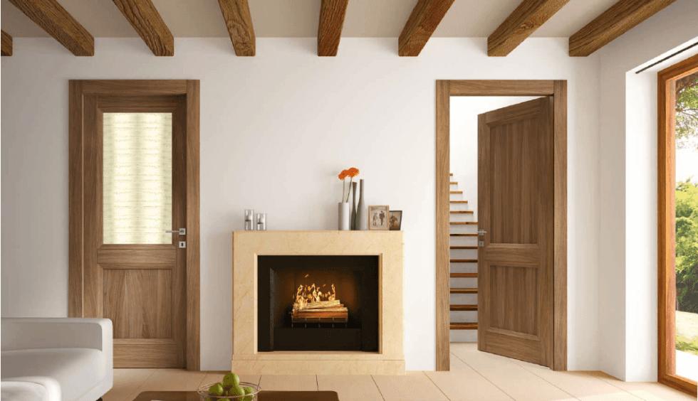 porte in legno per abitazione privata