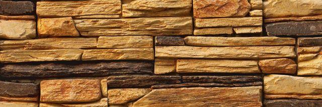 Sandstone wall blocks in Christchurch