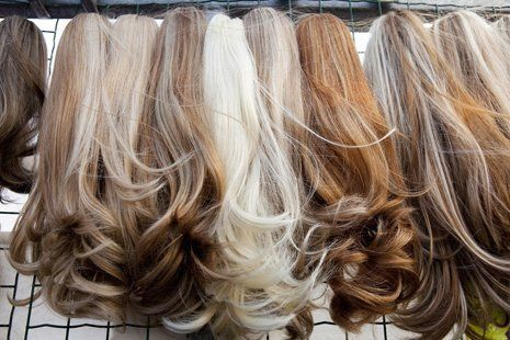 hair with expert styling
