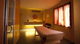 una sala di una spa