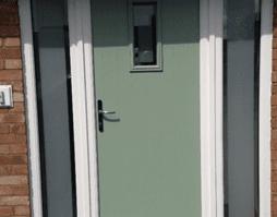 multi point locking door