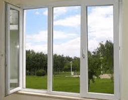 three door window