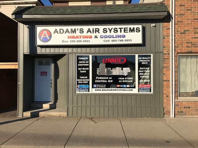 Adam's Air Systems heating and cooling