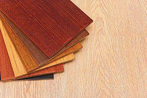 various wood vinyl samples