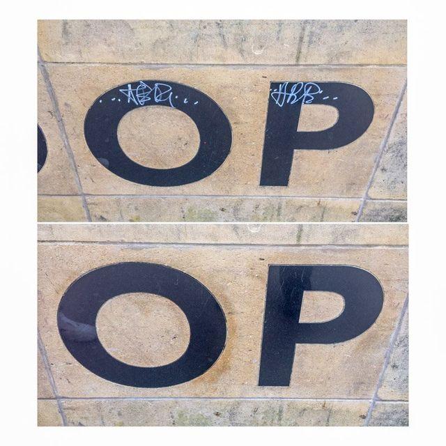 removal of graffiti