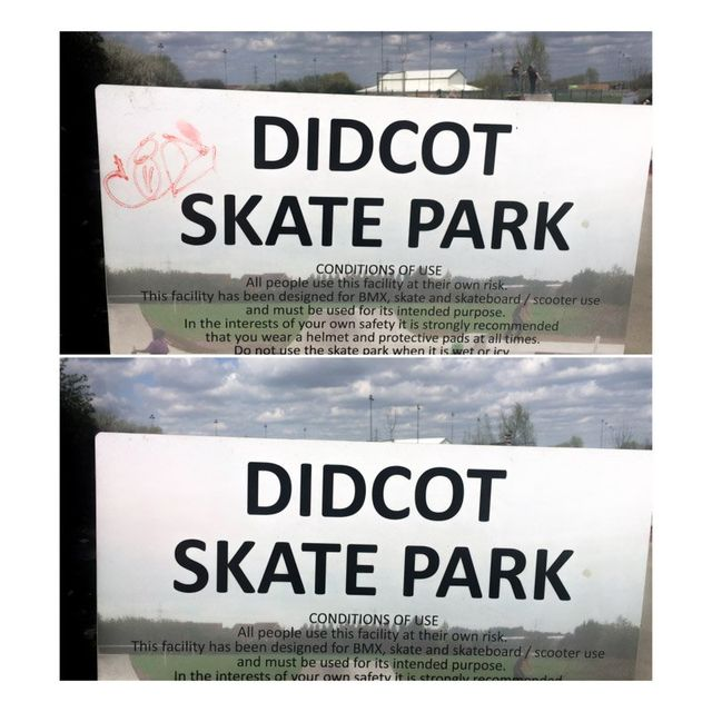 graffiti removal didcot