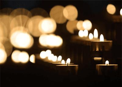 lumini per cimitero