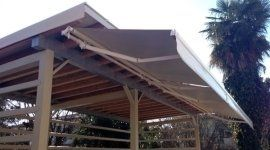tettoie, tettoie in legno, tettoie in metallo
