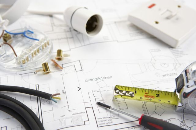 electrical plan and equipment