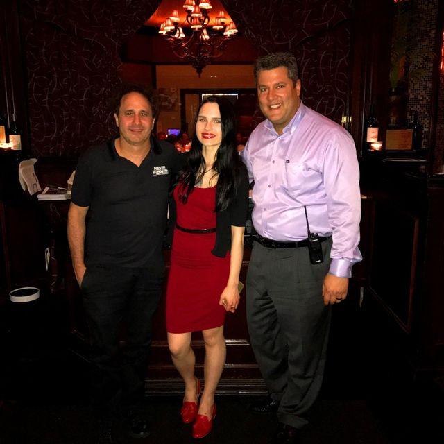 Entrepreneur George Maloof Jr Dines At Chicago Prime