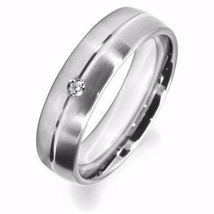 Artsy Gents' Wedding Rings