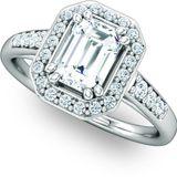 Bespoke Halo Engagement Ring
