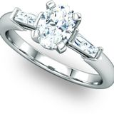 Affordable Multi Stone Engagement Ring