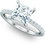 Exquisite Solitaire Engagement Ring