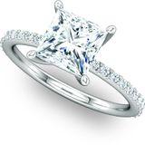 Exquisite Solitaire Engagement Ring