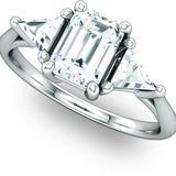 Exquisite Multi Stone Engagement Ring