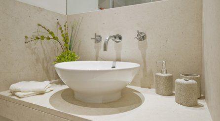 A stylish bathroom sink