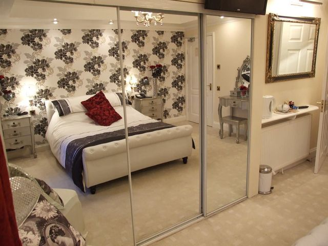 One of the rooms of our hotel lodge in King's Lynn