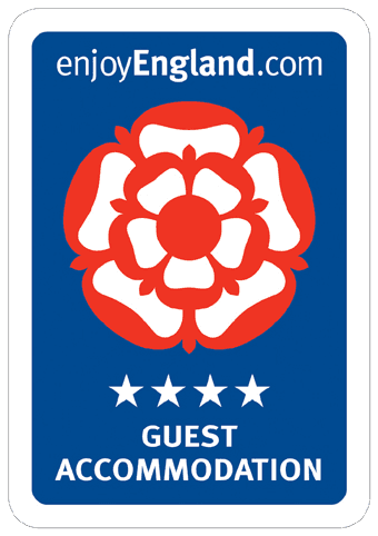 Our hotel has four starts for guest accommodation by Enjoy England