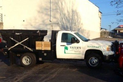 Vater's Lawn Care Truck