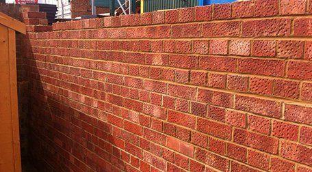 Garden wall maintenance