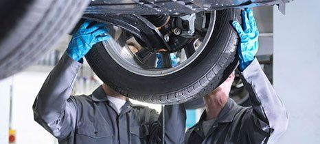 existing tyres replacement