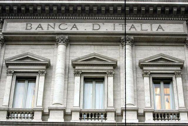 facciata banca d`Italia