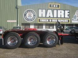 tri dolly at truck & bus repairs the haire