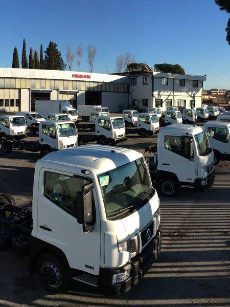 Parco camion e veicoli industriali