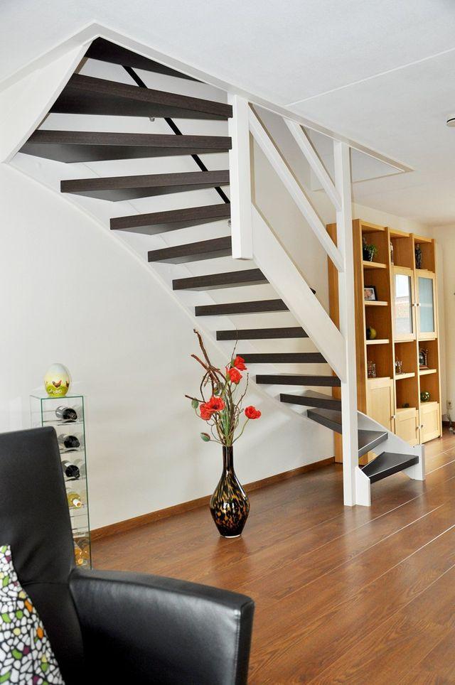 Smolenaars traprenovatie interieur maatwerk for Dichte trap maken