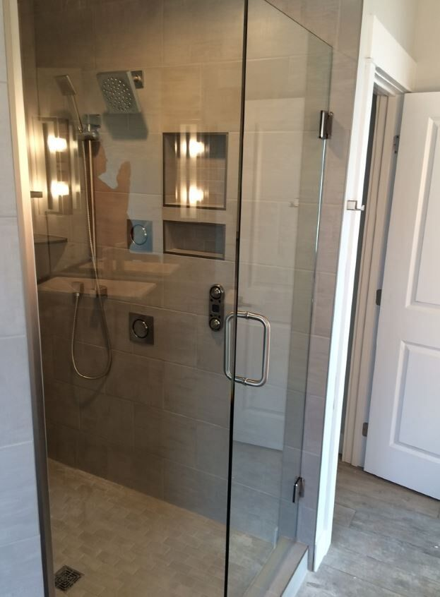 Shower Installation - Billings, MT - American Glass, Inc.