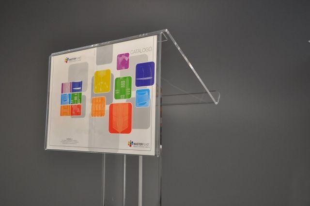 Busta portacomunicazioni in plexiglass