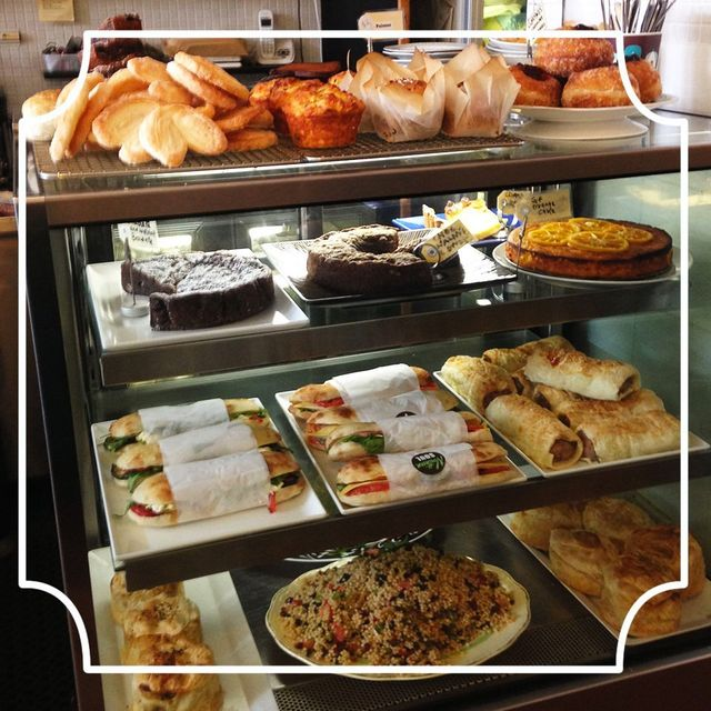 A variety of food choices with organic and fresh locally sourced produce