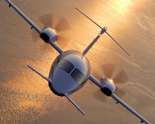 Airplane in Kamloops