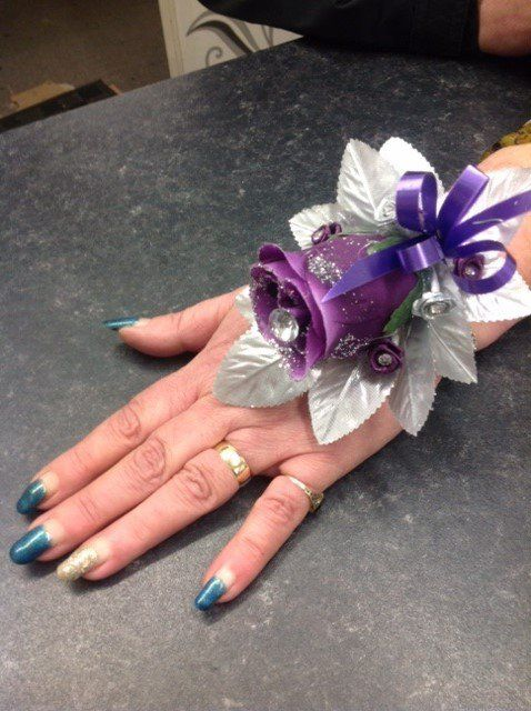 personal hand made flowers