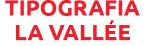 Tipografia La Vallée - Logo