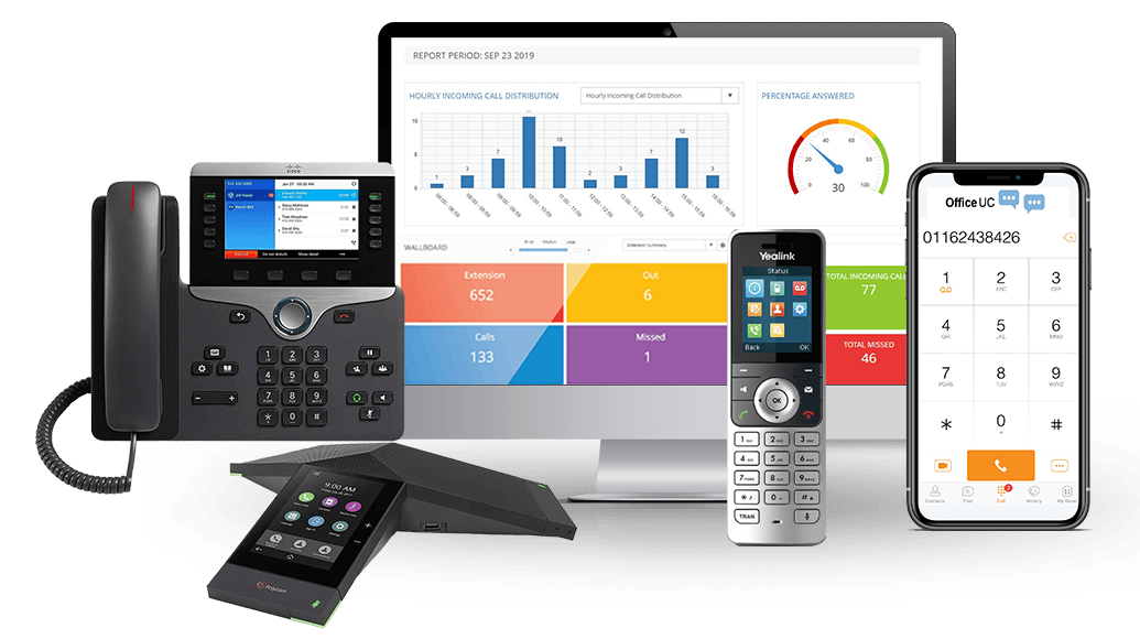 Remote Working From Home Cloud Phone System