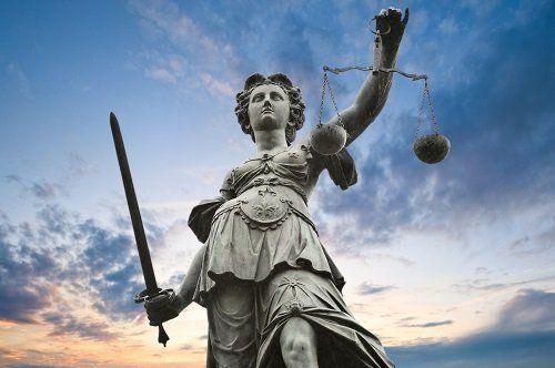 dea della giustizia