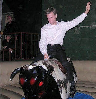 Mechanical Bull Western Decor Western Games Pony Hops